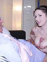 Jim Slip UK Porn video:A pair of BIG JUGGS