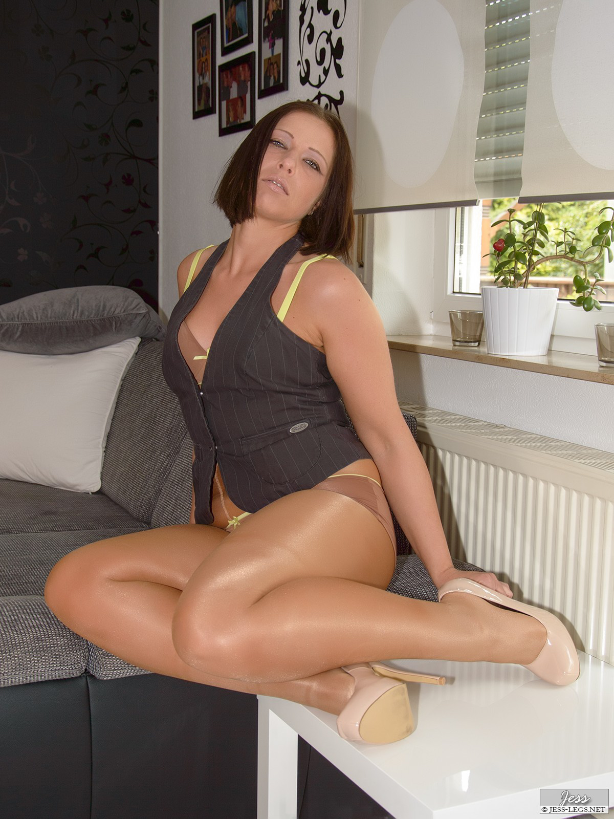 pantyhose stockings legs Jess