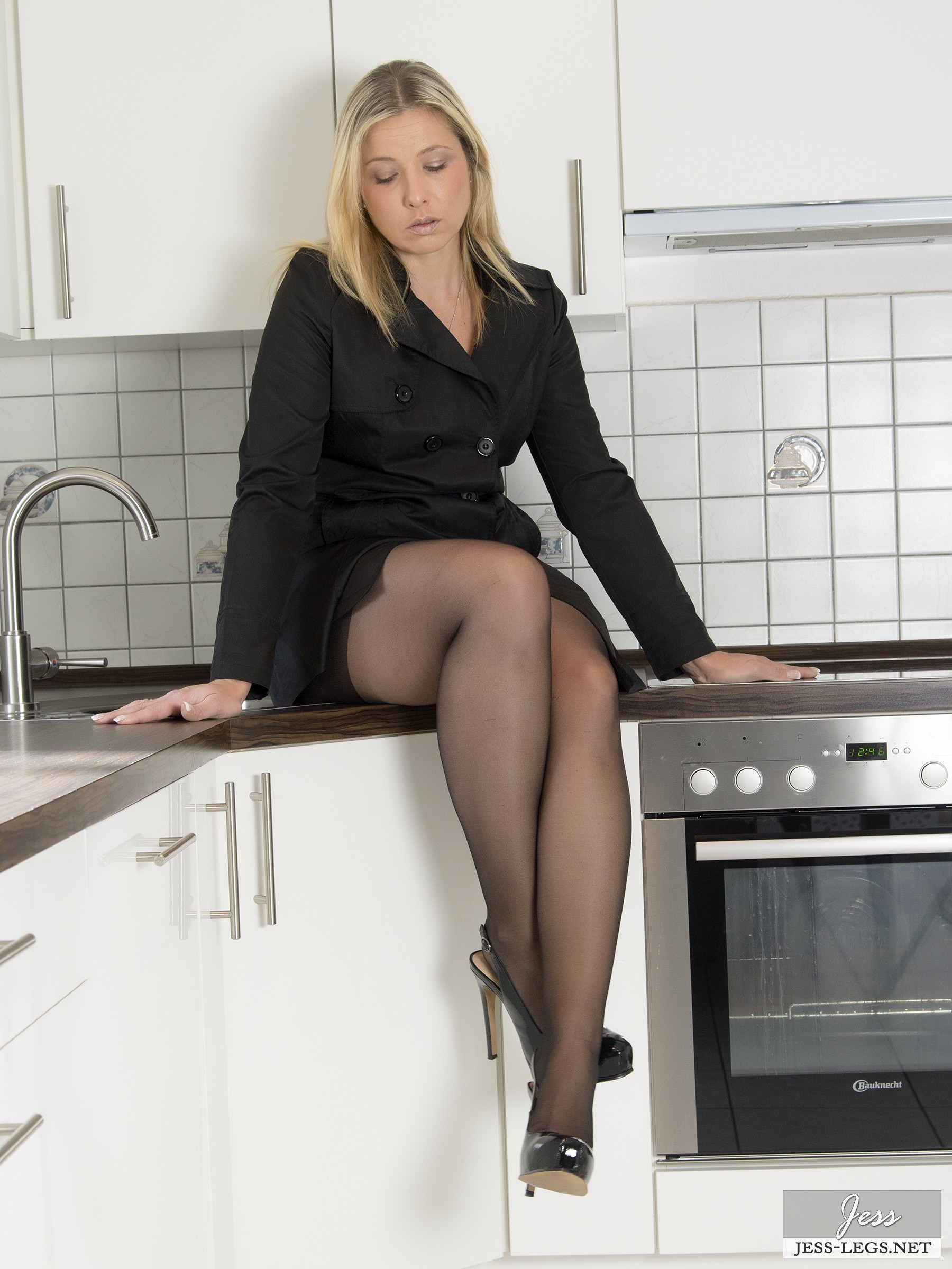 legs stockings Jess pantyhose